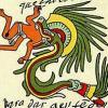 Serpent a plumes amerindiens